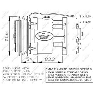 NRF 32120G Klimaanlagen