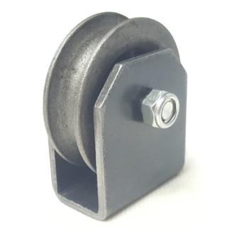 drahtseilrolle rolle 60mm mit halter umlenkrolle seilro 3. Black Bedroom Furniture Sets. Home Design Ideas
